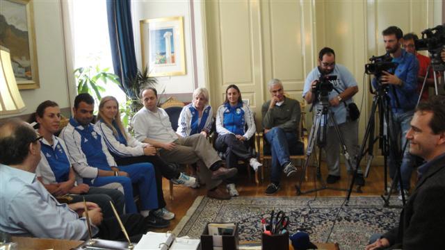 Βούλα Ζυγούρη - Ολυμπιονίκες στη Μεσσηνία 1