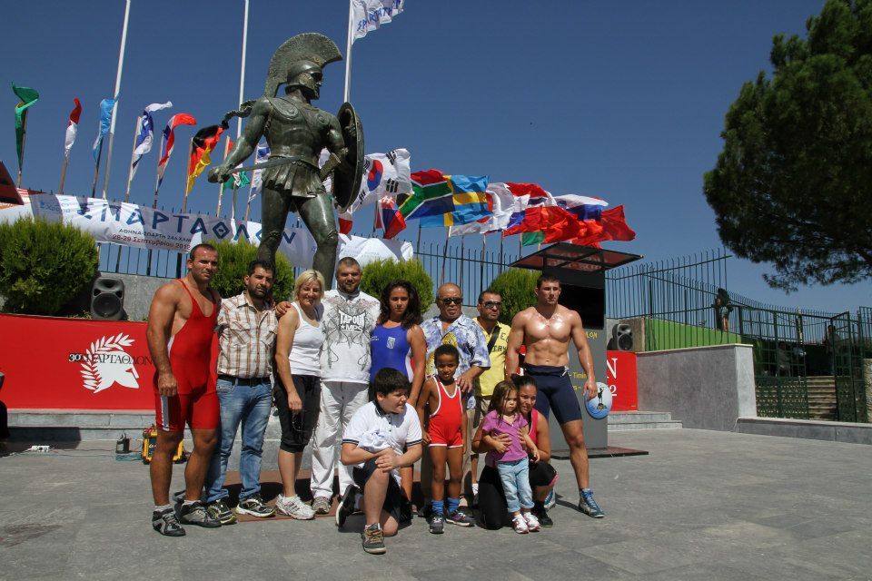 Βούλα Ζυγούρη - Σπάρταθλον 2012