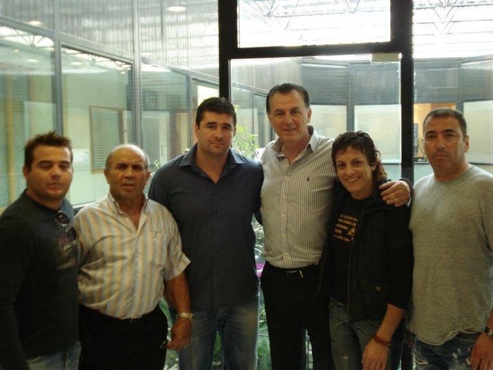 Επίσκεψη στον Δήμαρχο Περιστερίου - Βούλα Ζυγούρη 1