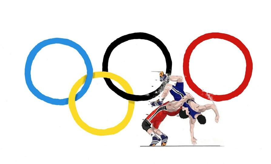 Μπάμπης Κουκλίδης Πάλη Ολυμπιάδα Σύνθεση Βούλα Ζυγούρη