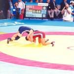 Athens 2004 Olympic Wrestling Voula Zygouri 23
