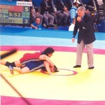 Athens 2004 Olympic Wrestling Voula Zygouri 25