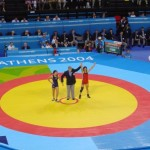 Athens 2004 Olympic Wrestling Voula Zygouri 5