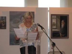 Παρουσίαση Ποιητικής Συλλόγής - Σου Γράφω - Βούλα Ζυγούρη 1