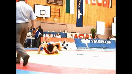 Double leg down and turn over - Wrestling - Voula Zigouri 10