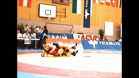 Double leg down and turn over - Wrestling - Voula Zigouri 11