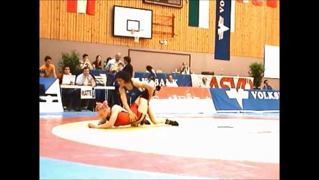 Double leg down and turn over - Wrestling - Voula Zigouri 13