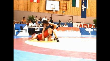 Double leg down and turn over - Wrestling - Voula Zigouri 15