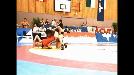Double leg down and turn over - Wrestling - Voula Zigouri 16