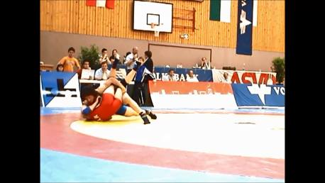Double leg down and turn over - Wrestling - Voula Zigouri 19