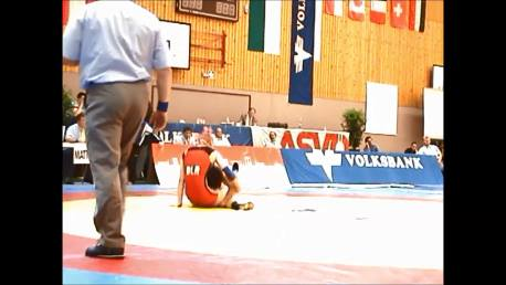 Double leg down and turn over - Wrestling - Voula Zigouri 9