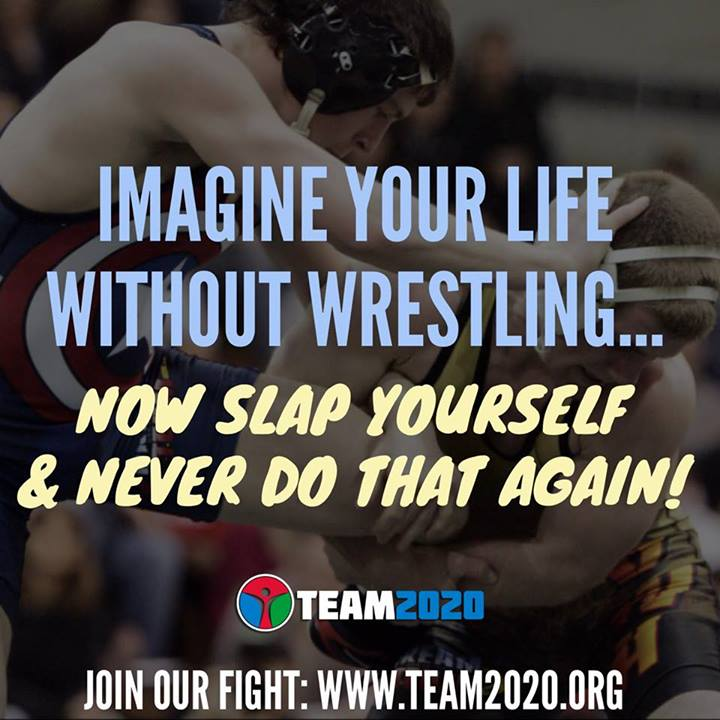 Imagine your life without wrestling