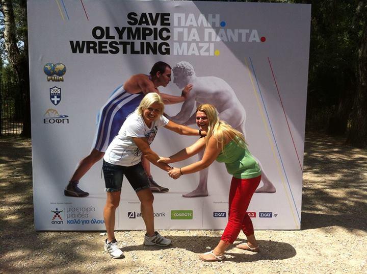 Save Olympic Wrestling - Voula Zigouri 4