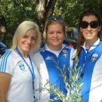 Αφή Φλόγας Χειμερινών Ολυμπιακών Αγώνων Sochi - Βούλα Ζυγούρη 2