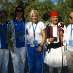 Αφή Φλόγας Χειμερινών Ολυμπιακών Αγώνων Sochi - Βούλα Ζυγούρη 6
