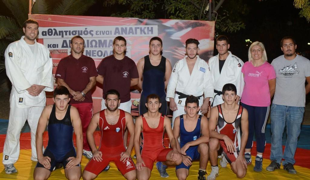 Πάλη και άλλα αθλήματα 19-9-2013 - Βούλα Ζυγούρη