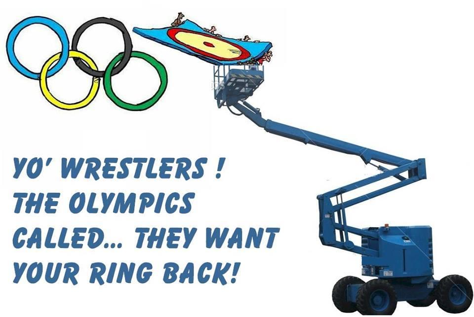 Save Olympic Wrestling - Voula Zygouri
