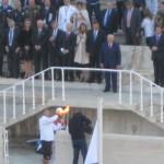 Τελέτη παράδοσης ολυμπιακής φλόγας για το Sochi - Βούλα Ζυγούρη 15