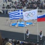 Τελέτη παράδοσης ολυμπιακής φλόγας για το Sochi - Βούλα Ζυγούρη 17
