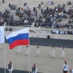 Τελέτη παράδοσης ολυμπιακής φλόγας για το Sochi - Βούλα Ζυγούρη 18