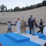 Τελέτη παράδοσης ολυμπιακής φλόγας για το Sochi - Βούλα Ζυγούρη 27