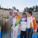 Τελέτη παράδοσης ολυμπιακής φλόγας για το Sochi - Βούλα Ζυγούρη 29