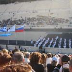 Τελέτη παράδοσης ολυμπιακής φλόγας για το Sochi - Βούλα Ζυγούρη 6