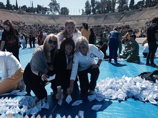 Το περιστέρι της ειρήνης - Εθνική Ολυμπιακή Ακαδημία - Βούλα Ζυγούρη 2
