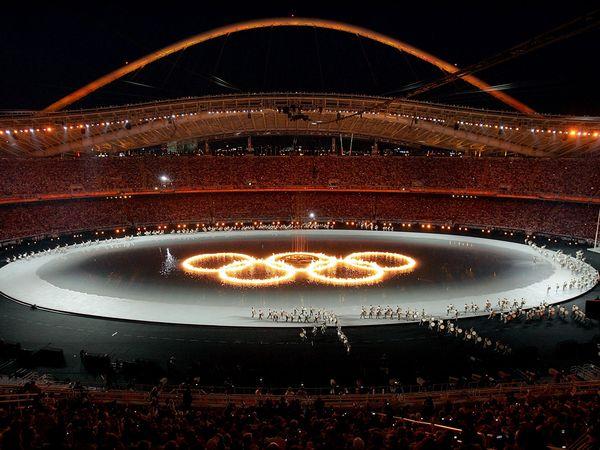 Ολυμπιακοί Αγώνες Αθήνα 2004 - Τελετή έναρξης