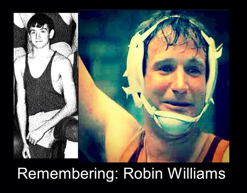 Robin Williams Wrestling