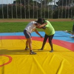 Voula Zygouri - Wrestling lessons - Imagine Peace Youth Camp 2014 (10)