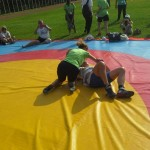 Voula Zygouri - Wrestling lessons - Imagine Peace Youth Camp 2014 (100)