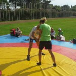 Voula Zygouri - Wrestling lessons - Imagine Peace Youth Camp 2014 (101)