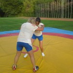 Voula Zygouri - Wrestling lessons - Imagine Peace Youth Camp 2014 (105)