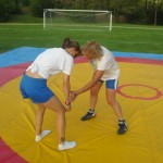 Voula Zygouri - Wrestling lessons - Imagine Peace Youth Camp 2014 (107)