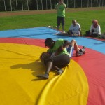 Voula Zygouri - Wrestling lessons - Imagine Peace Youth Camp 2014 (108)