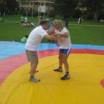 Voula Zygouri - Wrestling lessons - Imagine Peace Youth Camp 2014 (109)