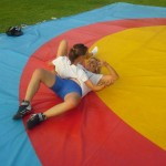 Voula Zygouri - Wrestling lessons - Imagine Peace Youth Camp 2014 (11)