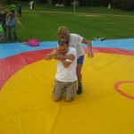 Voula Zygouri - Wrestling lessons - Imagine Peace Youth Camp 2014 (111)