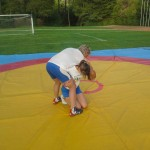 Voula Zygouri - Wrestling lessons - Imagine Peace Youth Camp 2014 (112)
