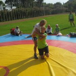 Voula Zygouri - Wrestling lessons - Imagine Peace Youth Camp 2014 (113)