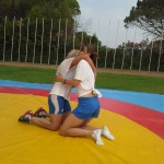 Voula Zygouri - Wrestling lessons - Imagine Peace Youth Camp 2014 (114)