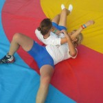 Voula Zygouri - Wrestling lessons - Imagine Peace Youth Camp 2014 (115)