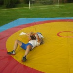Voula Zygouri - Wrestling lessons - Imagine Peace Youth Camp 2014 (116)