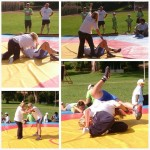 Voula Zygouri - Wrestling lessons - Imagine Peace Youth Camp 2014 (117)