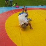 Voula Zygouri - Wrestling lessons - Imagine Peace Youth Camp 2014 (119)