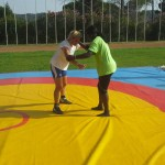 Voula Zygouri - Wrestling lessons - Imagine Peace Youth Camp 2014 (12)