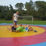 Voula Zygouri - Wrestling lessons - Imagine Peace Youth Camp 2014 (120)