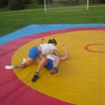 Voula Zygouri - Wrestling lessons - Imagine Peace Youth Camp 2014 (121)