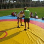 Voula Zygouri - Wrestling lessons - Imagine Peace Youth Camp 2014 (122)
